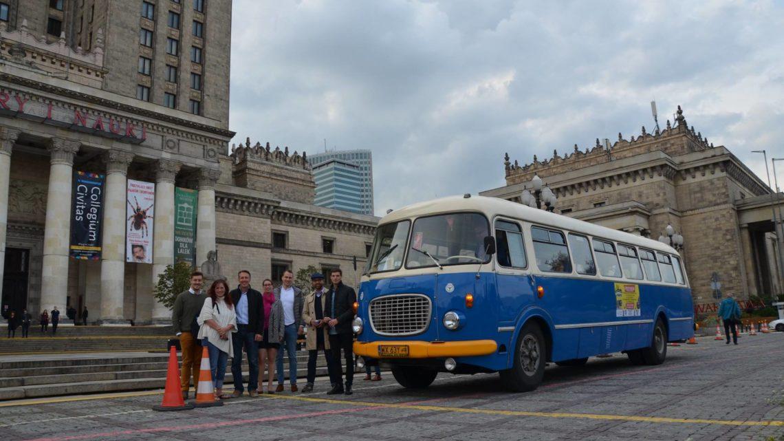 Urodzinowe atrakcje w stylu PRL pod Pałacem Kultury i Nauki
