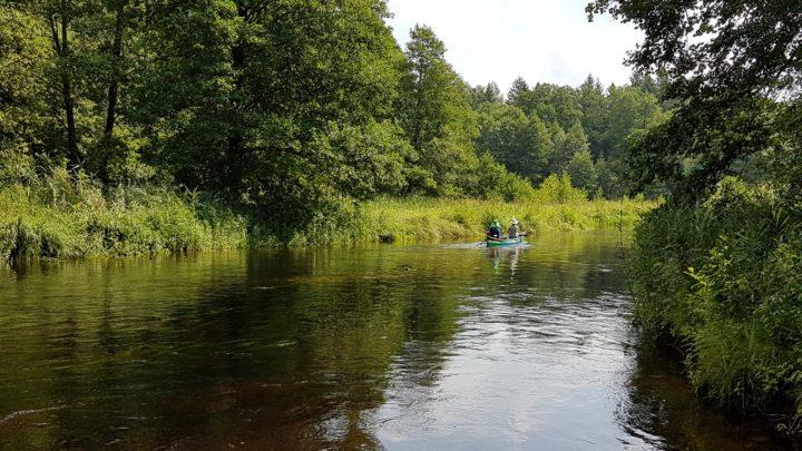 Odpoczynek nad rzeką w zgodzie z naturą